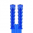 FLEXIBLE HAUTE PRESSION 10M adaptable KÄRCHER - DN8 - FIXATION M22F/M22F - BLEU - 2 TRESSES